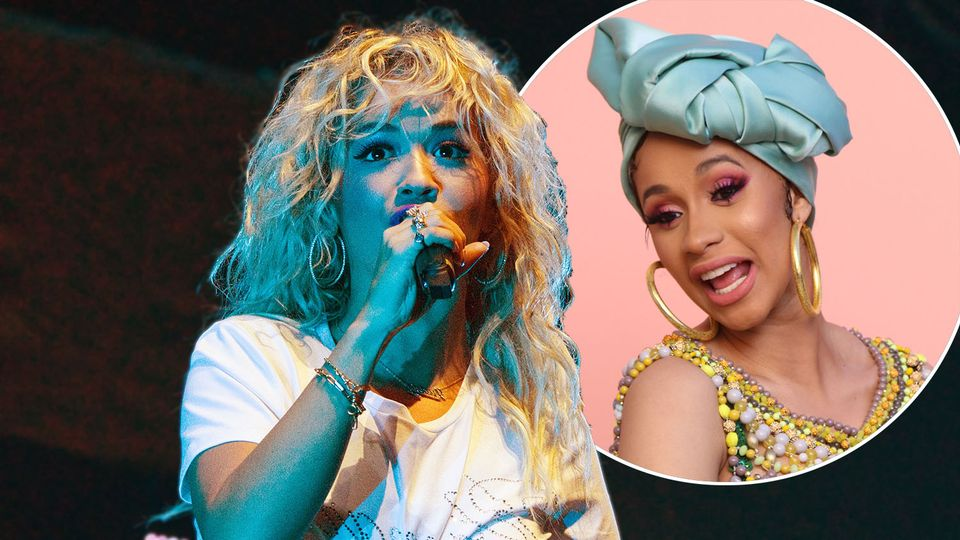 Rita Ora opens up about working with Cardi B at Hits Radio Live