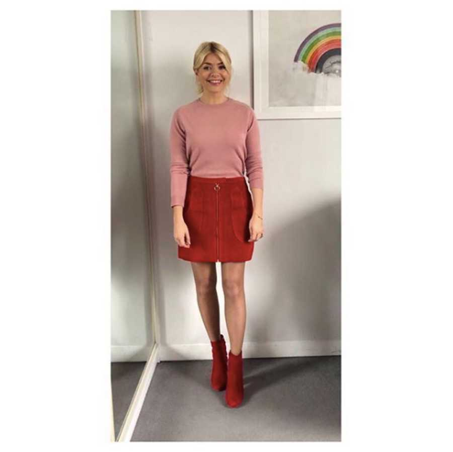 a42a0be4df1d Holly Willoughby's This Morning outfits: Her best looks so far this ...