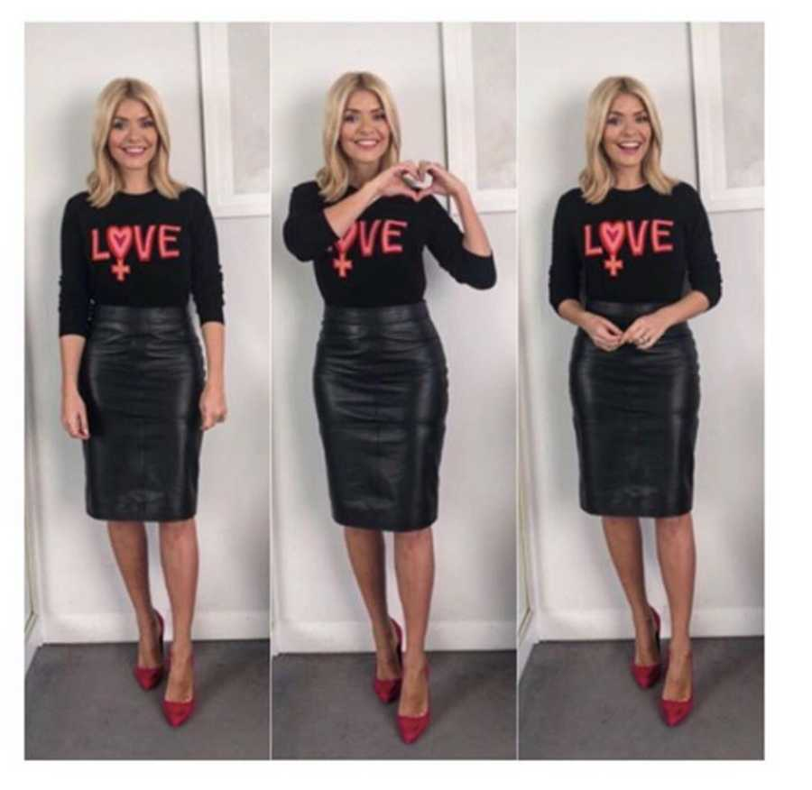 d1006f84957 Holly Willoughby s This Morning outfits  Her best looks so far this ...