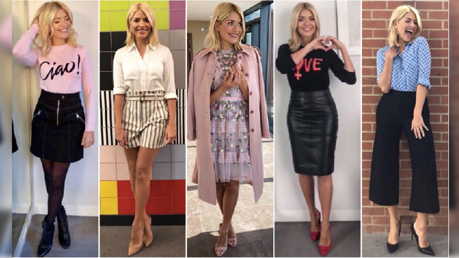 92d8285f5d3 Holly Willoughby's This Morning outfits: Her best looks so far this ...
