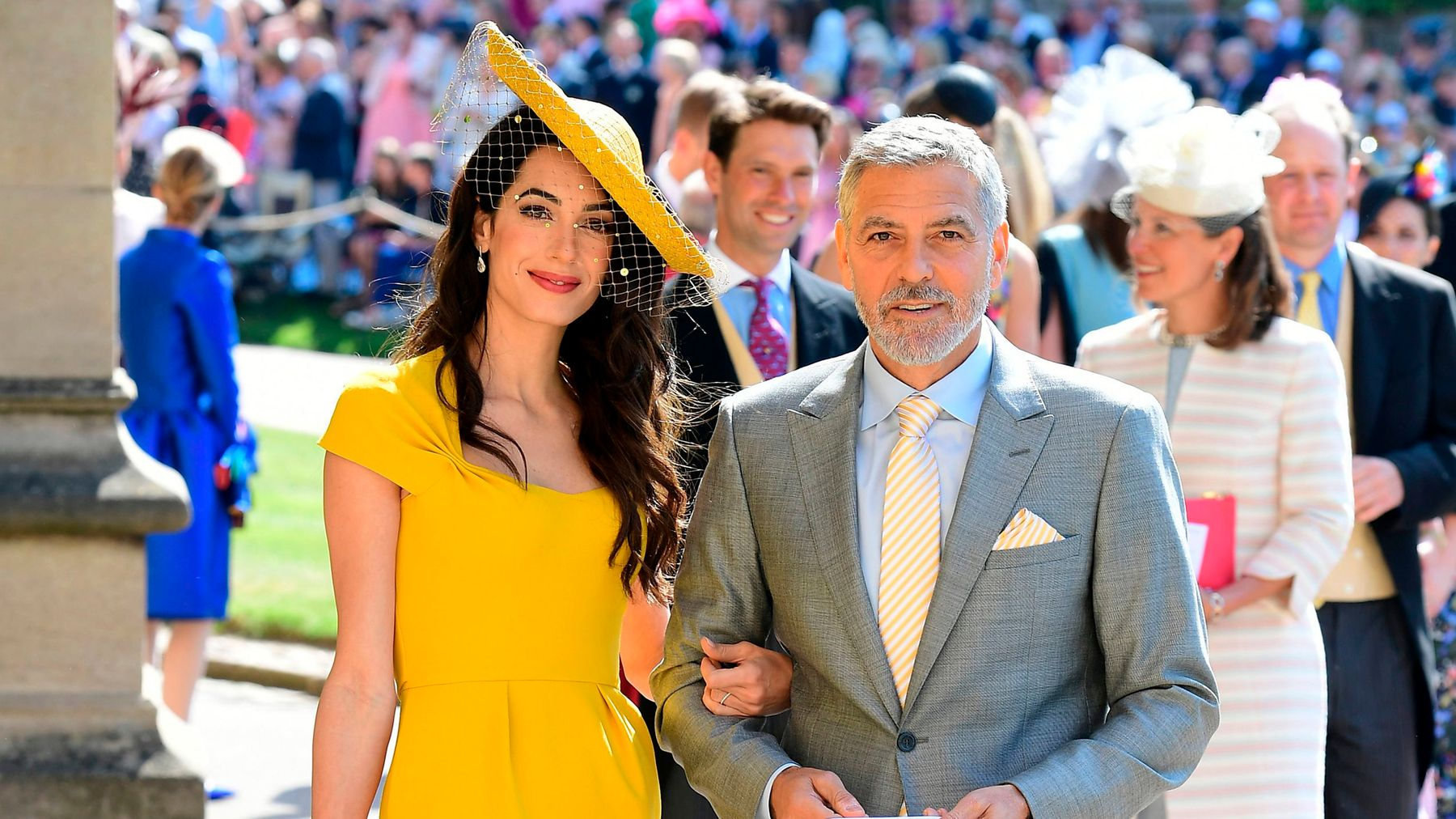 Amal Clooney Royal Wedding.Meghan Markle And Amal Clooney S Mysterious Friendship An