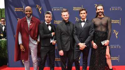 Queer Eye Stole The Show At Last Night's Emmy Creative Awards