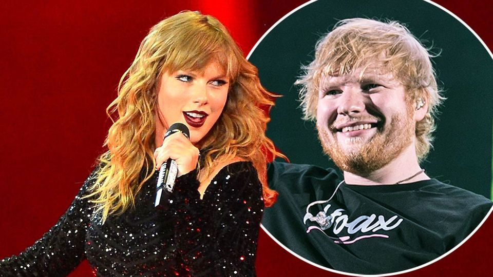 Ed Sheeran can't keep up on a hike with Taylor Swift