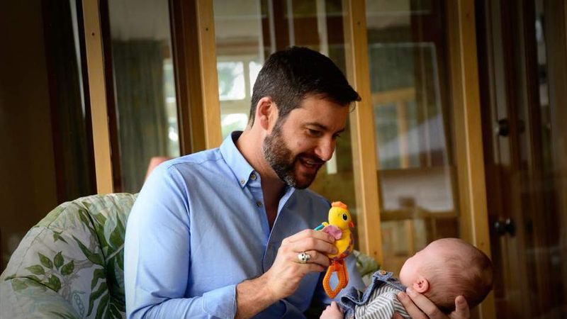 'She's Running The Country, I'm Holding The Baby': Grazia Speaks Exclusively To New Zealand's 'First Bloke' Clarke Gayford