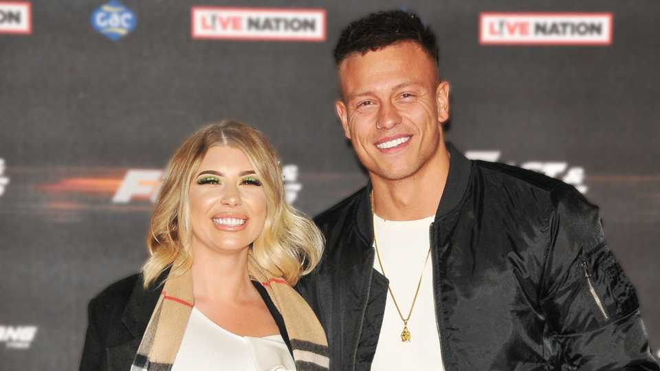 Love Island's Olivia Buckland and Alex Bowen share first