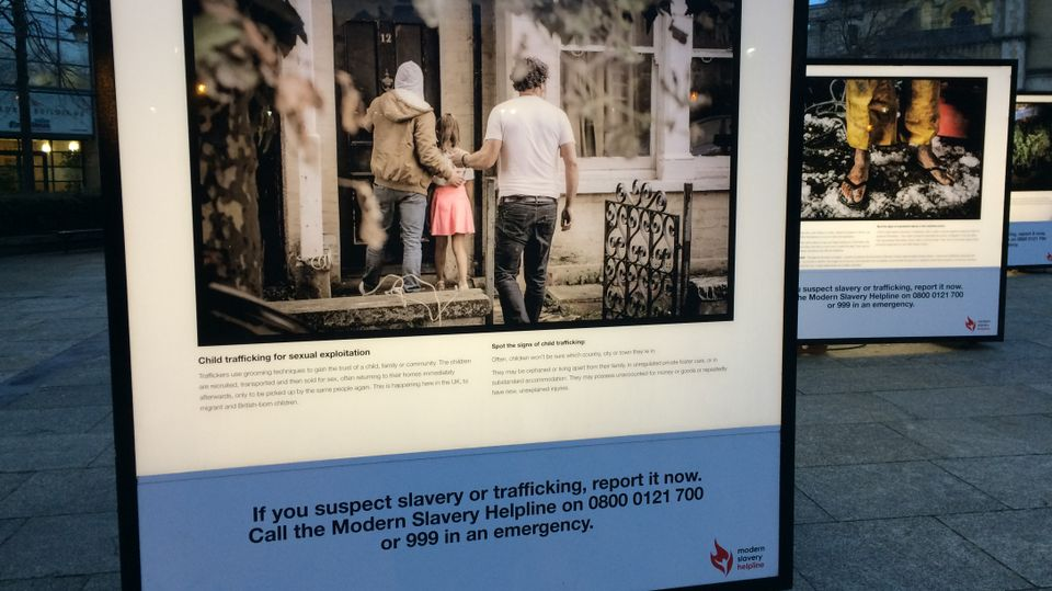 Modern slavery and human trafficking offences 'up by 50