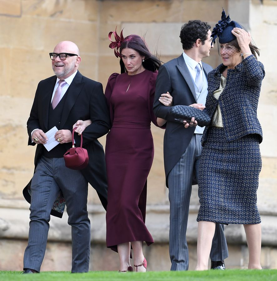 GALLERY: Celebrity guests arrive at Princess Eugenie And