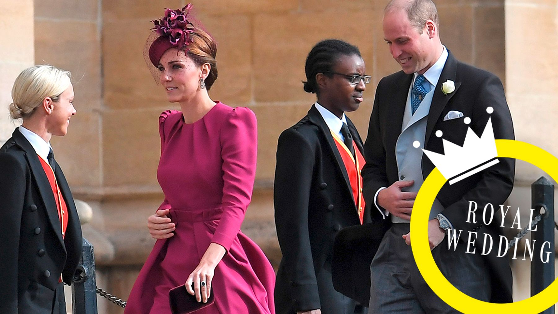0e3cfb5c3198cb Meghan And Kate Make The Most Celeb-y Entrance To Princess Eugenie's ...