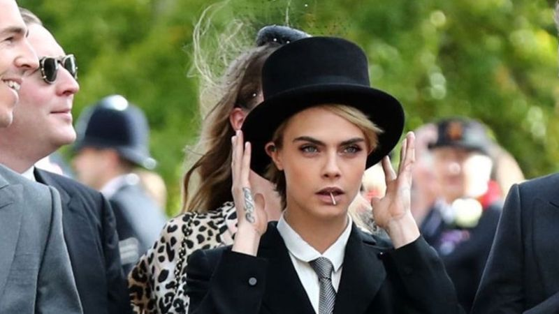 How Cara Delevingne Broke Style Rules - And Our Hearts - At The Royal Wedding