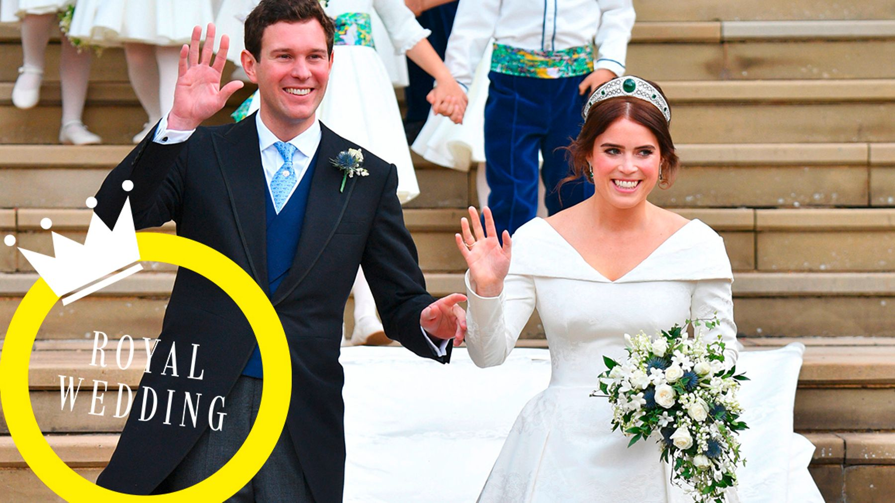 Princess Eugenie Wedding.Princess Eugenie And Jack Brooksbank S Wedding As It Happens Grazia
