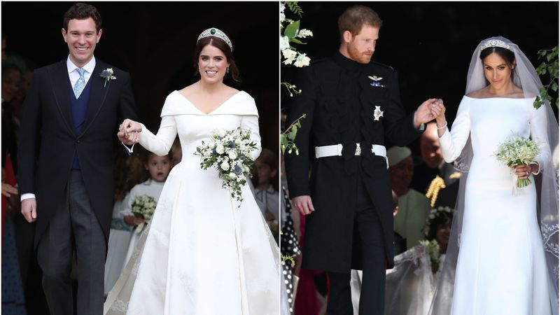 How Did Eugenie And Jack's Wedding Compare To Harry And Meghan's?
