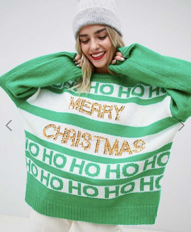 79f33cbd832f4 The nine best maternity Christmas jumpers this year | Closer