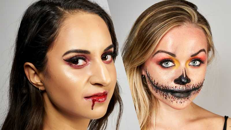 Terrifyingly good Halloween make-up looks that are SO easy to recreate