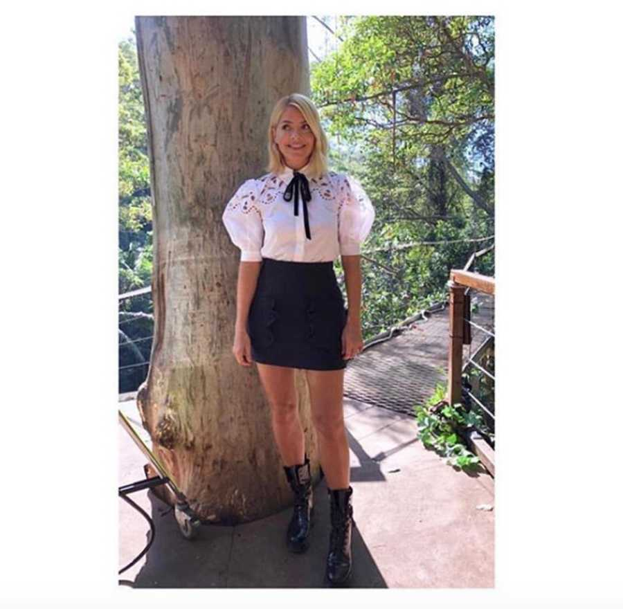 d38923144ad Holly Willoughby's clothes from I'm a Celebrity and where to buy ...