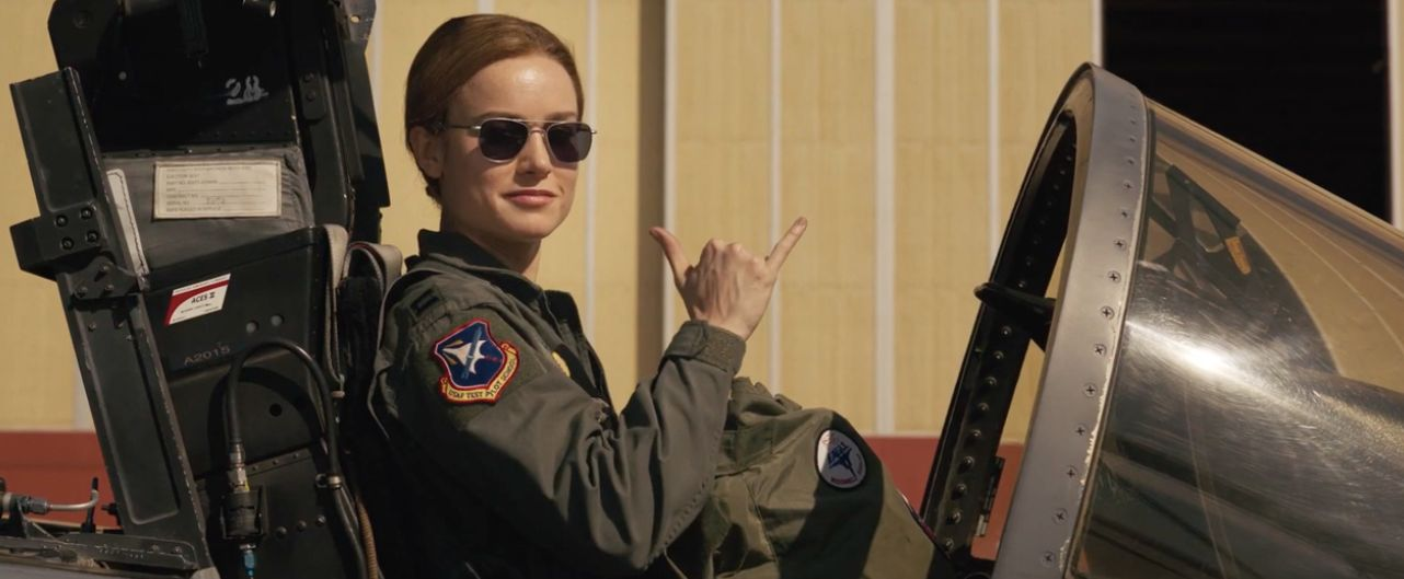 Five Things We Learnt From The New Captain Marvel Trailer | Grazia