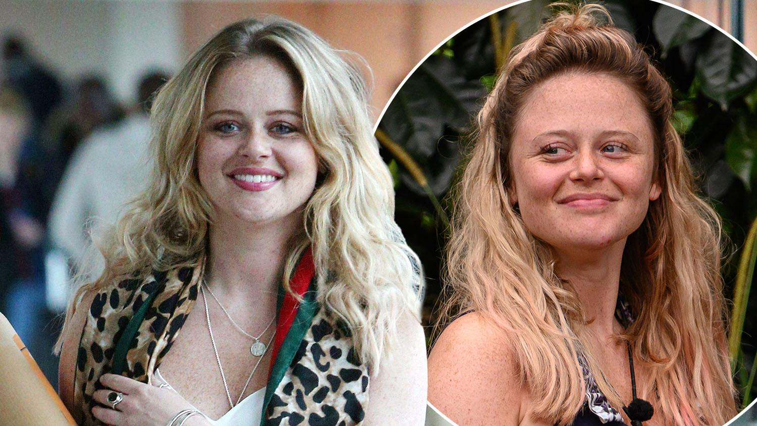 I M A Celeb S Emily Atack Shares Inspirational Body Positive Message After Flying Home Entertainment Heat