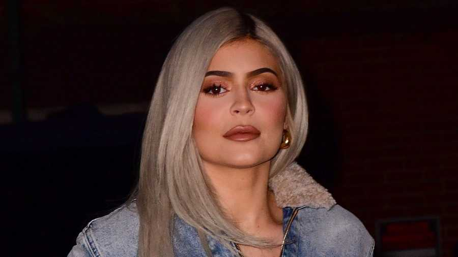 Kylie Jenner, now