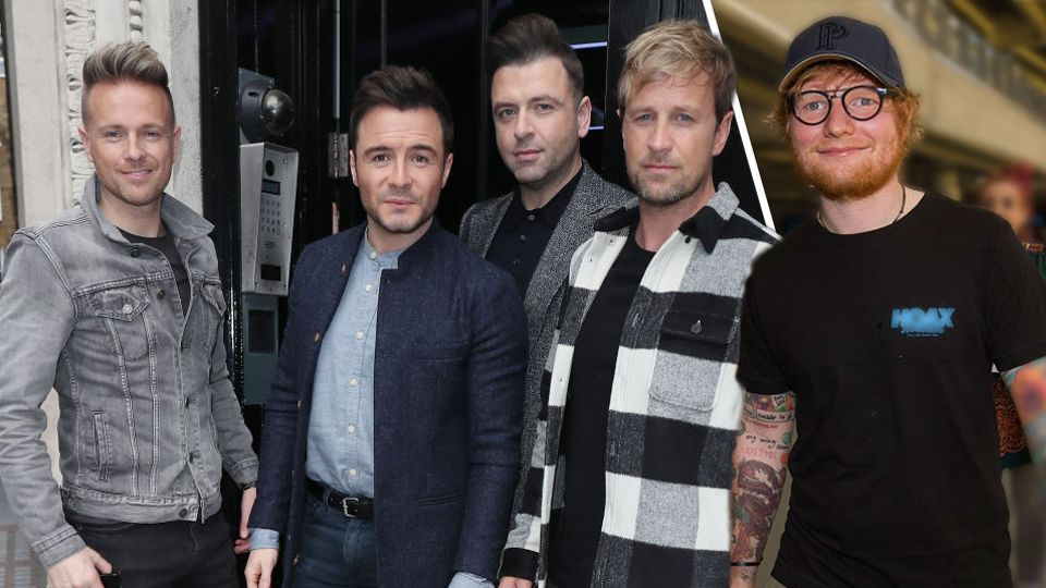 Ed Sheeran has 'written' ANOTHER song for Westlife