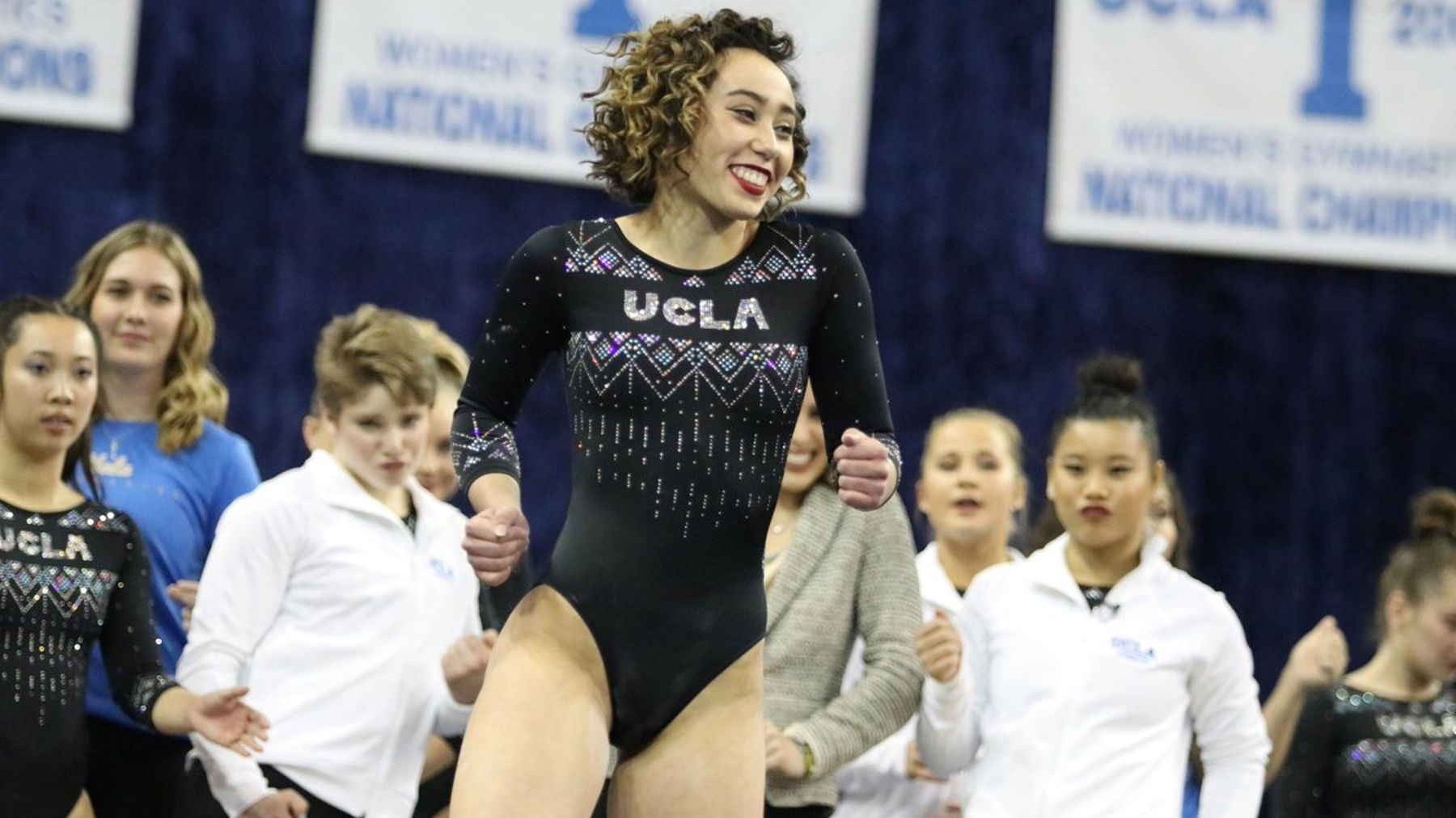 The Story Behind Gymnast Katelyn Ohashi's Viral Routine