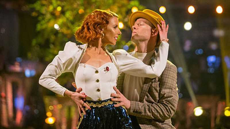 Stacey Dooley's relationship feels the Strictly strain