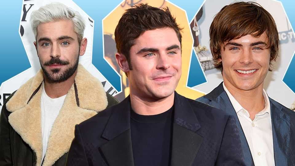 An Extensive Look At Zac Efrons Transformation Through The Years