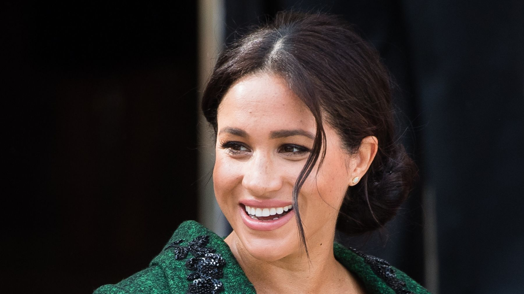 616642194 This Is Why Meghan Markle Isn't Wearing Her Engagement Ring   Grazia