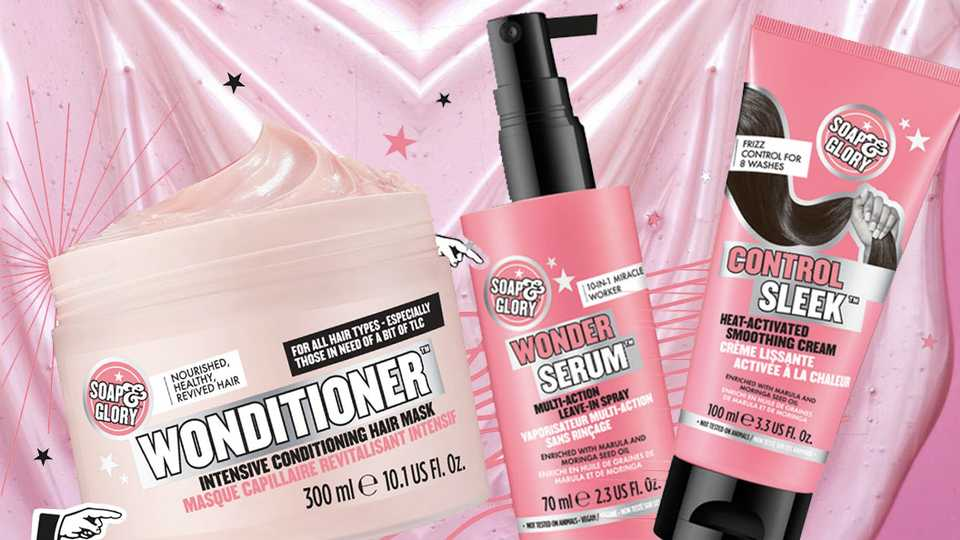 Soap & Glory's new haircare range: A review