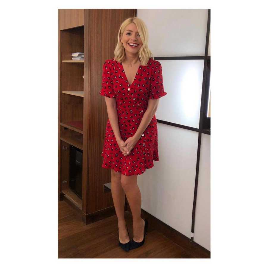 35d6068cd38 Holly Willoughby s clothes from This Morning and where to buy high ...