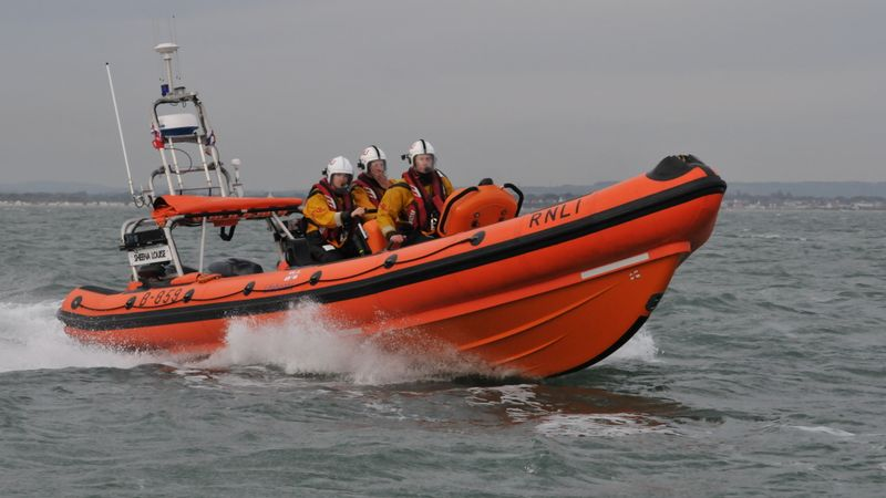 Lifeboat called out to man-overboard