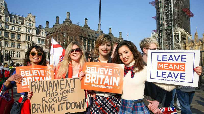 'Yes, We're Young, Yes, We're Women, And Yes: We Want Brexit'