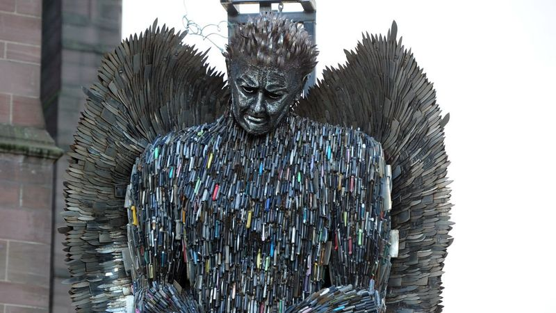 EXCLUSIVE: Knife angel to move to Birmingham