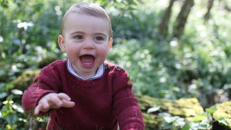 Prince Louis Celebrates His 1st Birthday With Adorable New Pictures (Taken By His Mum)