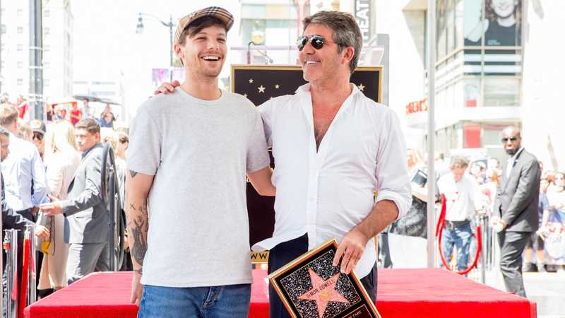 Simon Cowell opens up about co-judge Louis Tomlinson's future on The X Factor