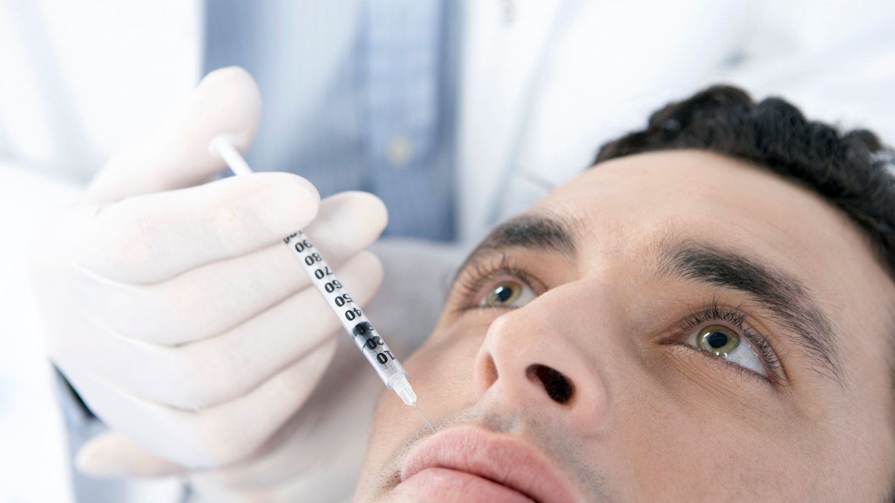More Men Than Ever are Considering Cosmetic Procedures Like Filler