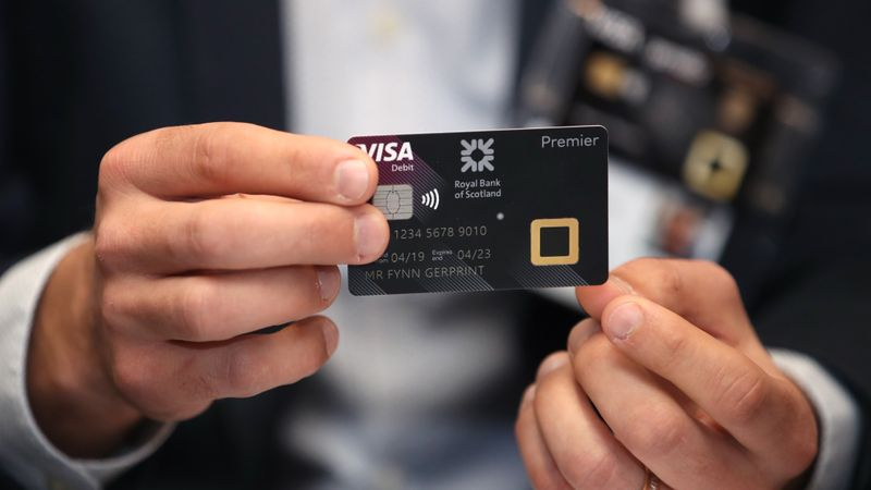RBS unveils biometric fingerprint card