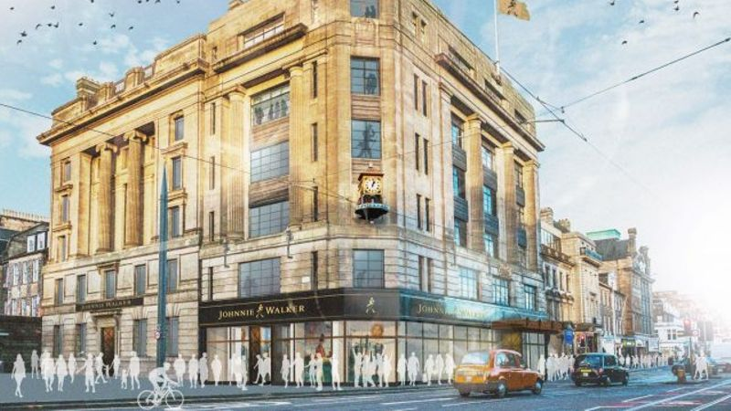 Plans for Johnnie Walker experience centre approved by councillors