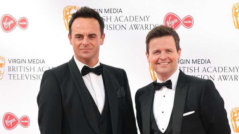 Ant and Dec thank Holly Willoughby for I'm a Celebrity win