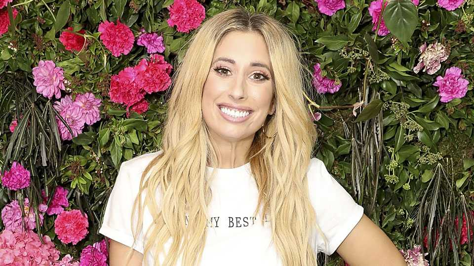 Stacey Solomon Looks Stunning At Her Baby Shower With Celebrity