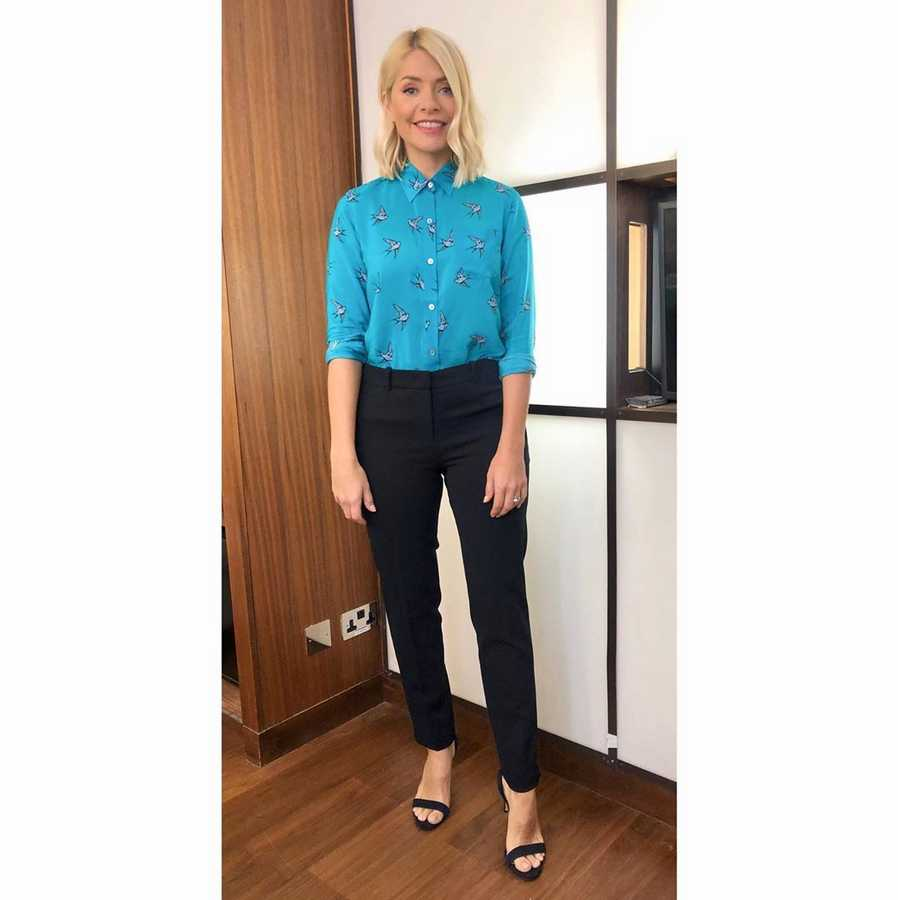 10e4ef83bc313 Holly Willoughby s clothes from This Morning and where to buy high ...