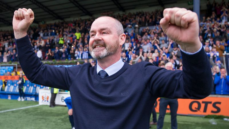 Steve Clarke appointed as new Scotland manager