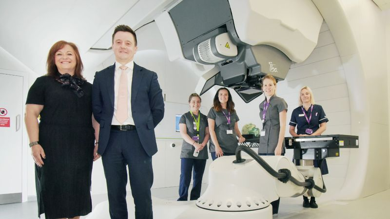 Arrival of proton beam therapy in the North East heralds a new era in the battle against cancer