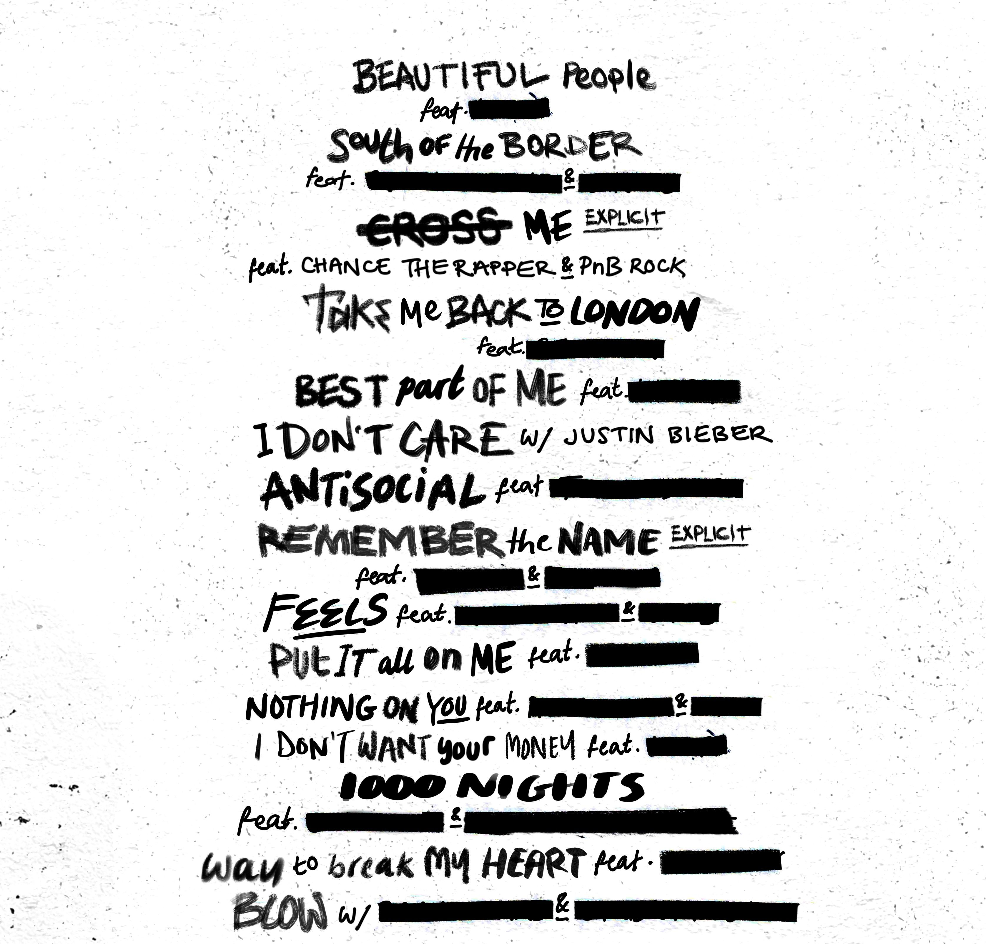 Ed Sheeran is about to drop a brand new album called 'No.6