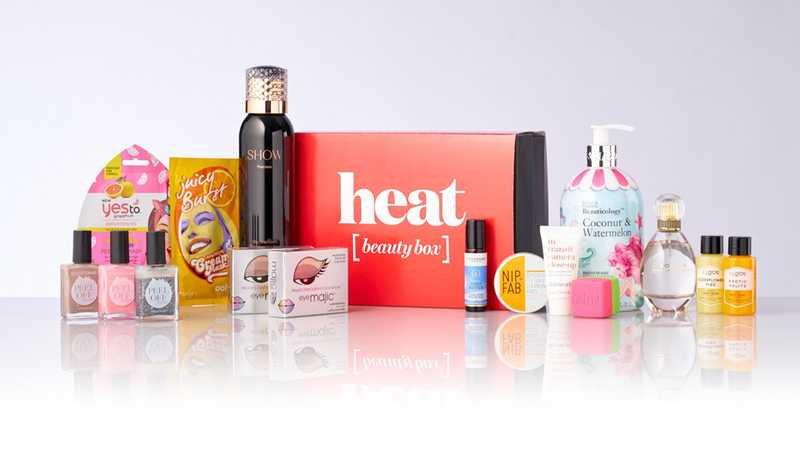 Pick up Heat's NEW beauty box worth £112 for only £26!