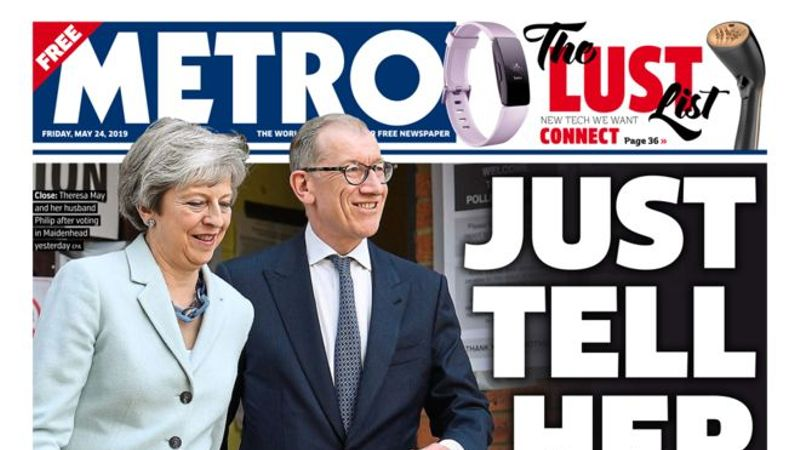 Whatever You Think Of Theresa May, This Headline Is Not Cool