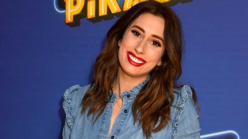 Stacey Solomon shares adorable snaps of sons meeting newborn baby