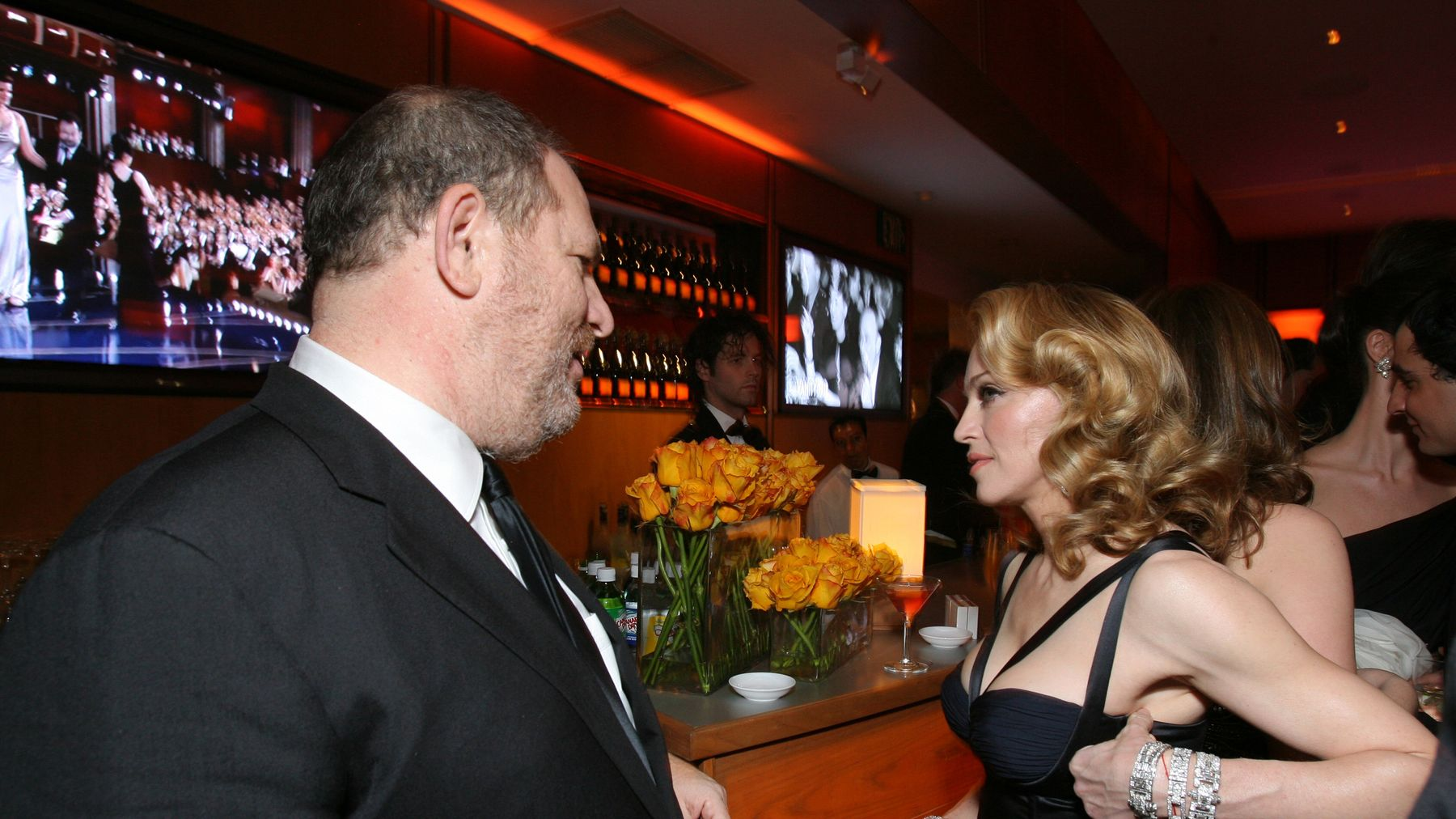 Madonna Says Harvey Weinstein 'Crossed Lines' And Was