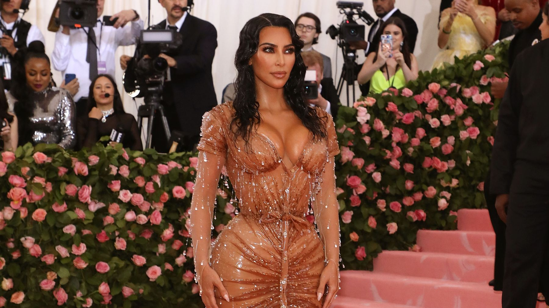 Kim Kardashian Shares Close-Up Photo Of Psalm West (And It's Totally