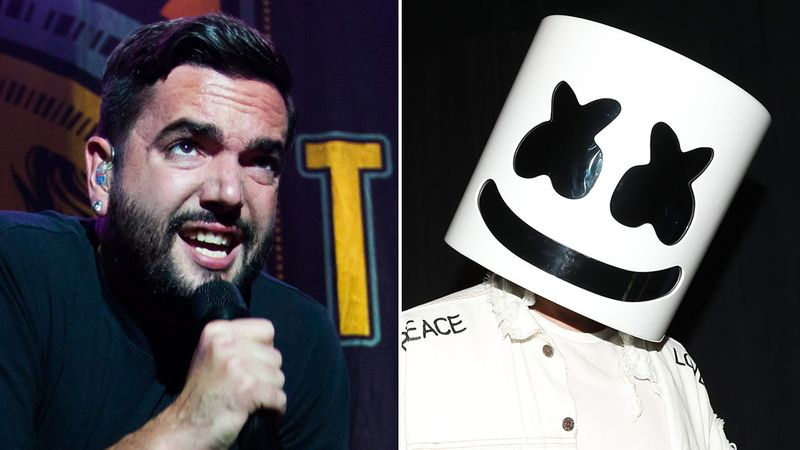 Listen to a snippet of A Day To Remember's collaboration with Marshmello