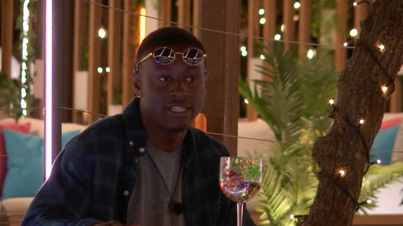 Love Island's Sherif Lanre spotted on show despite being 'axed'