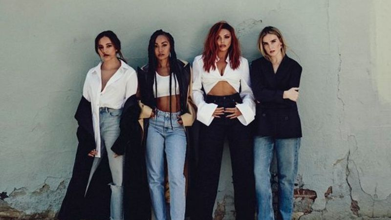 Little Mix take us behind the scenes with new shots for 'Bounce Back'